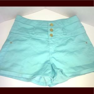 Pants - High waisted stretch fit shorts